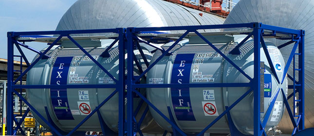 EXSIF OCS Tank Container Products Scotland